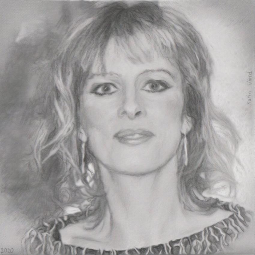 Karin Viard par baudet